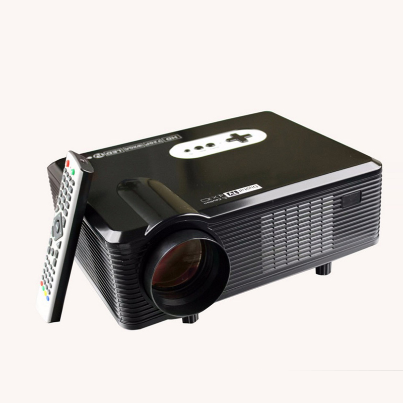 New 3D Game Projector 1280*800 Support 1080P LCD Full HD Build-in Speaker Home Business Theater Proyector DH-TL260