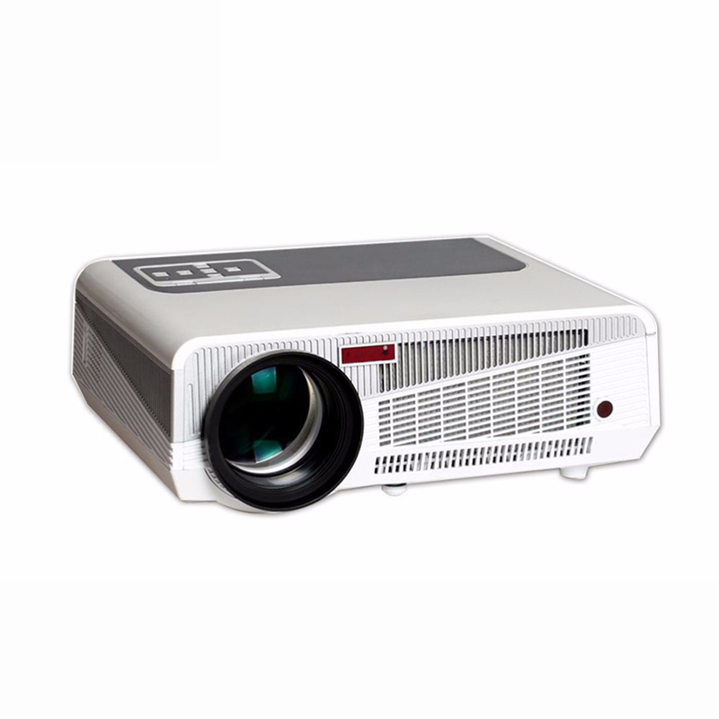 Top Quality Dynamic 4500 Lumen Projector Android 4.4 220W LED Full HD 1080P Smart Projector 3D led Wifi Multimedia Home Project