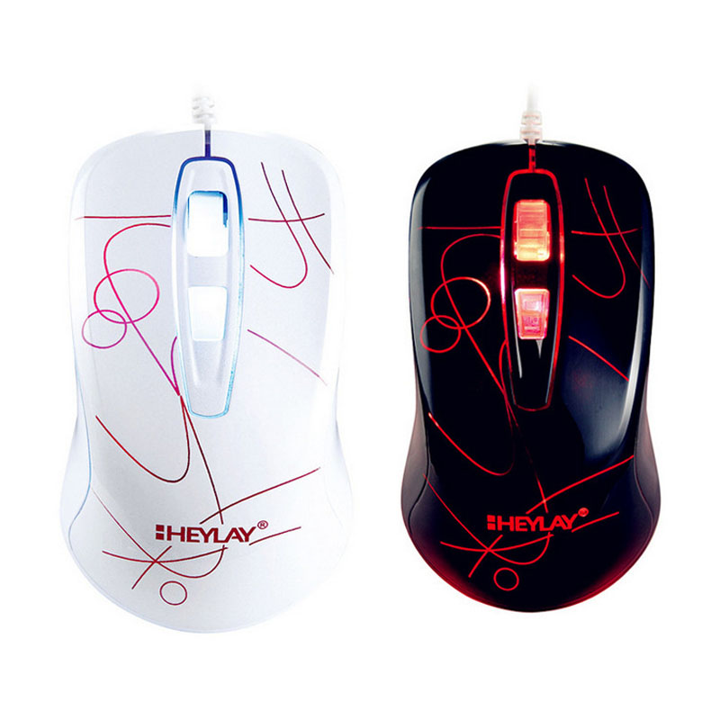 New Arrival USB Game Mouse Luminous Computer Mouse V510