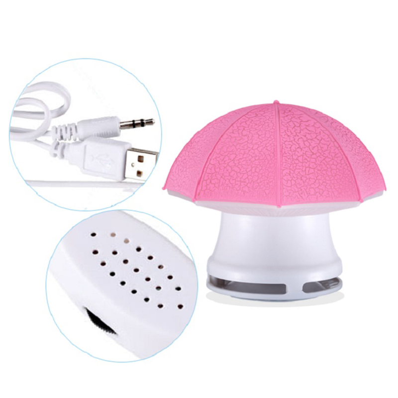 Super Portable Mini Umbrella Shape Speaker for Laptop F005