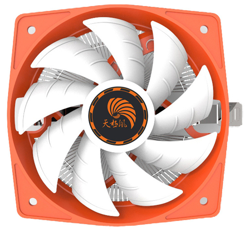High Quality Aluminium CPU Cooling Radiator Fans for Intel/AMD
