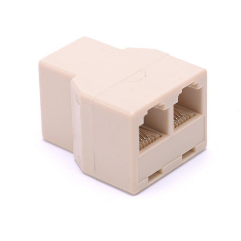 Top Quality Telephone Splitter One Into Three Output Connector Cable
