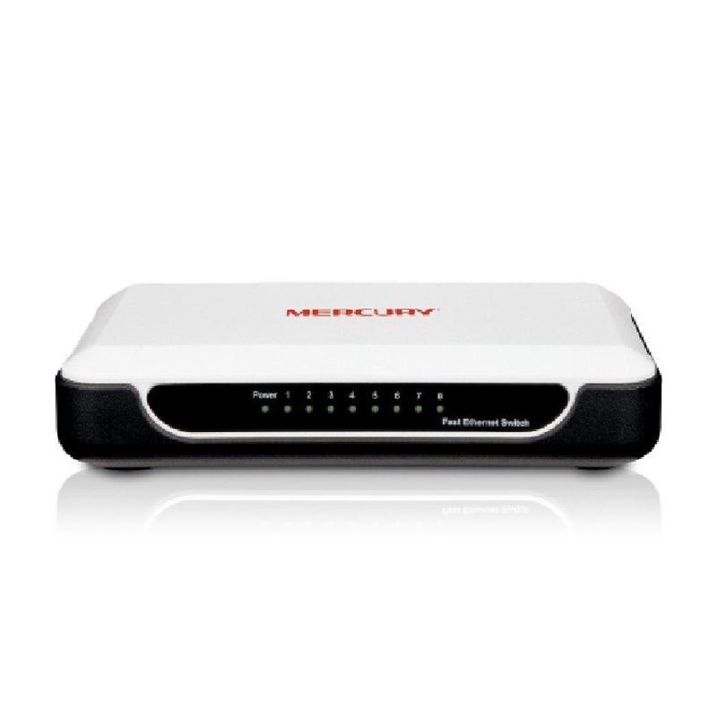 New Arrival 8 Ports 10/100Mbps Network Switches S108M