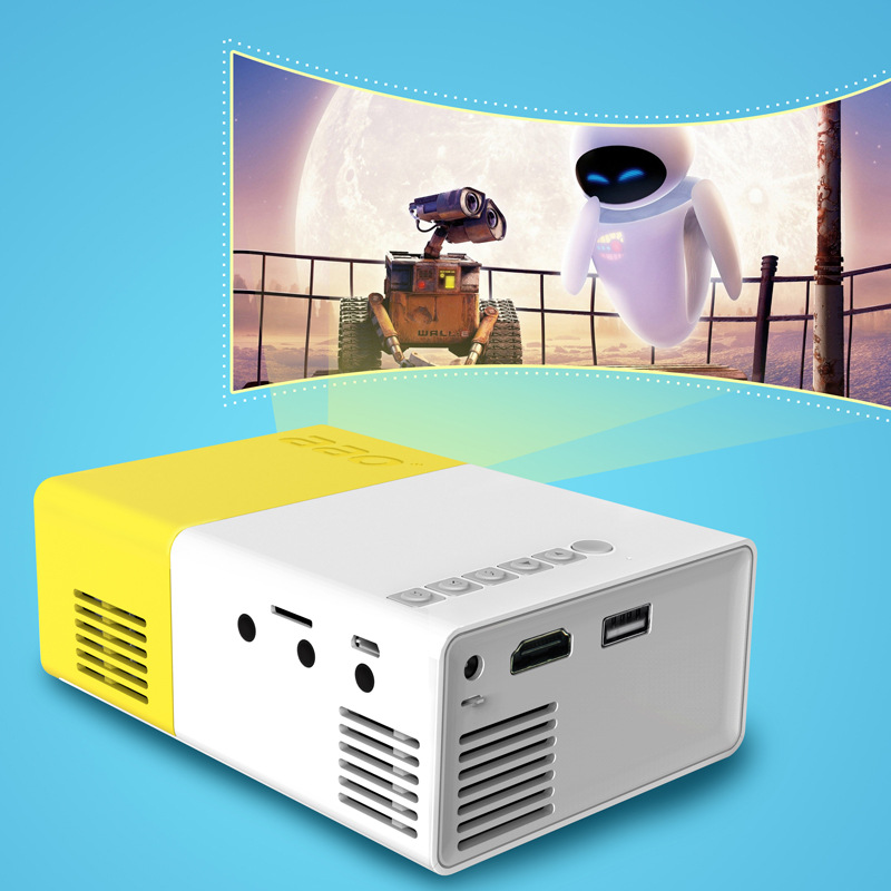 Mini Portable HD household/Business Video Projectors YG300