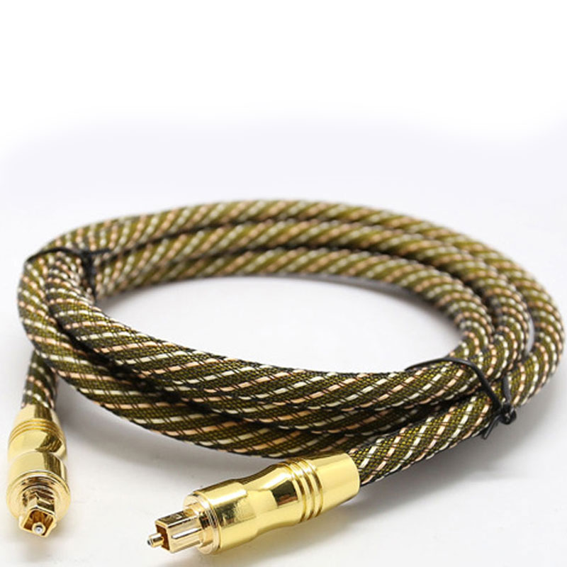 1M Digital Optical Audio Cable Fiber Optic Cable OD7.0 Toslink Male to Toslink Male Cable