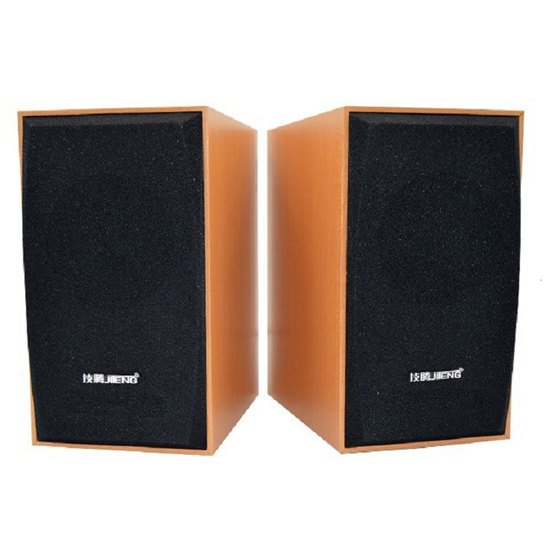 New Computer Speakers Wooden Sound Box USB 2.0 Mini Audio Multimedia Subwoofer For Laptop