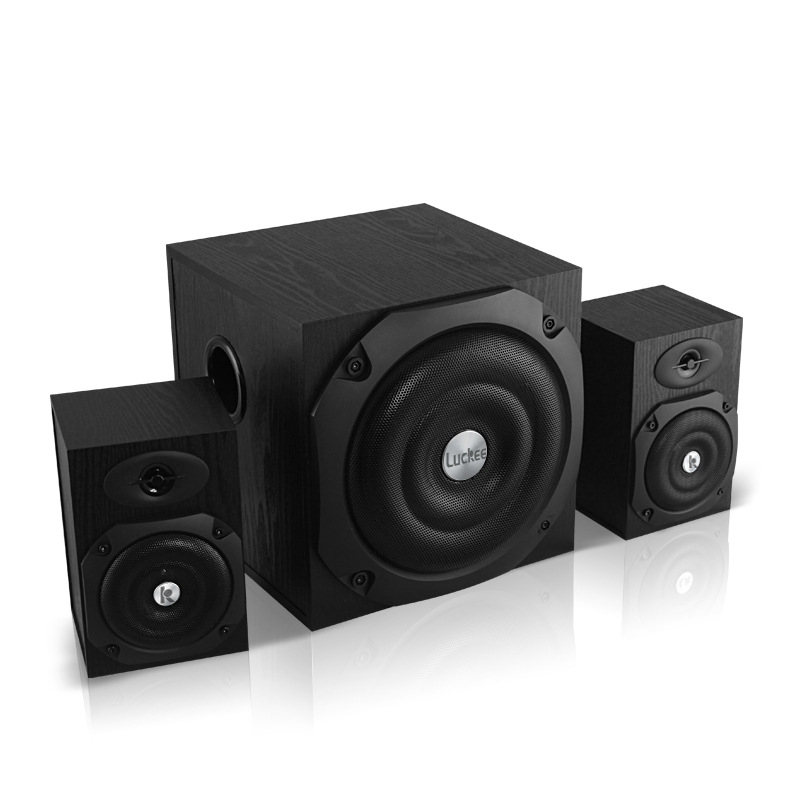 Multimedia Sound Box Speaker Active Speaker 2.1 Stereo Subwoofer For Computer TV