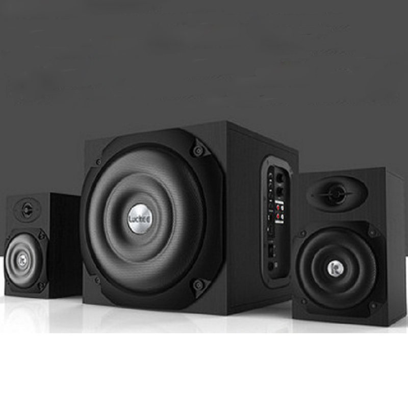 Multimedia Big Sound Box Speaker Bluetooth Stereo Subwoofer For Computer Desktop