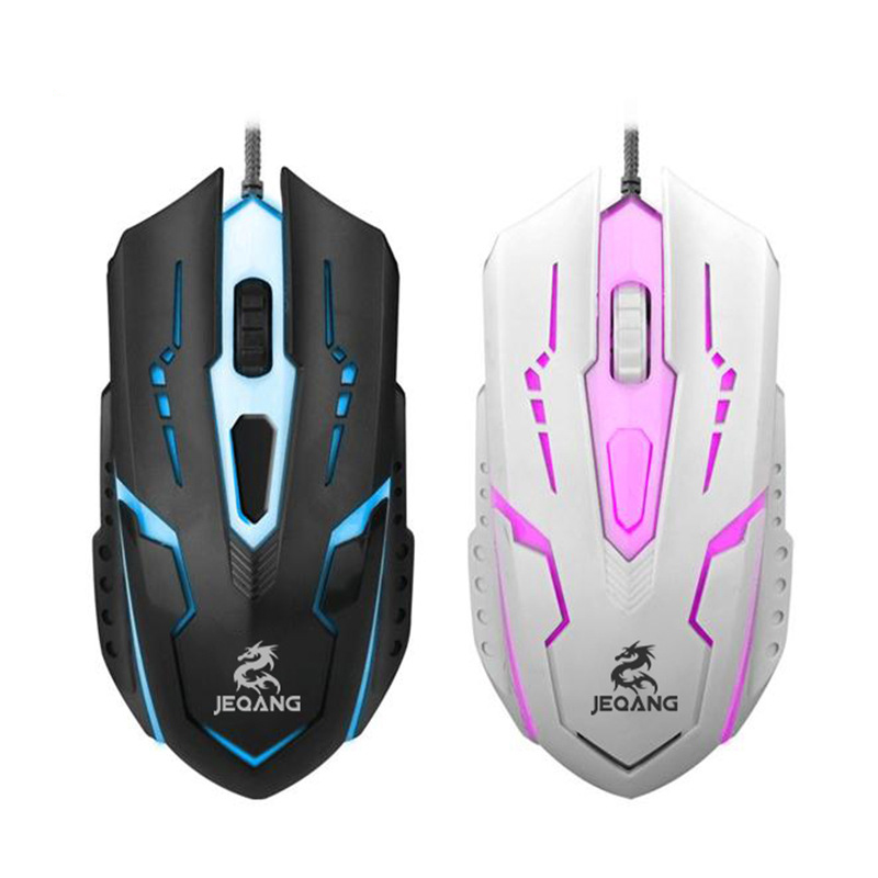 New Light Wired Mouse USB E-Sport Game Mouse For Laptop Desktop Computer
