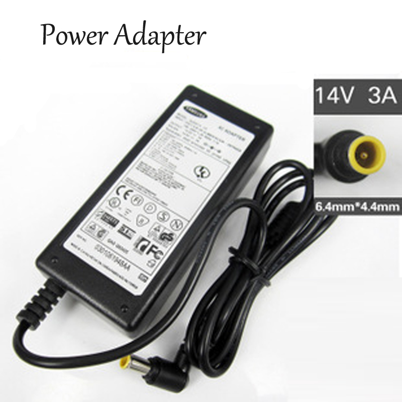 Power Adapter Laptop Power Supply For Samsung 14V 3A
