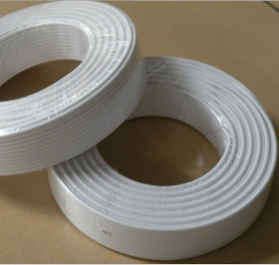 High Quality Two Core Soft Line 100m Telephone Cable White RJ11