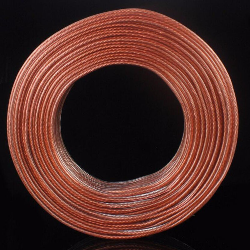 Professional Surround Sound Line Copper Core Speaker Wire Speaker Cable