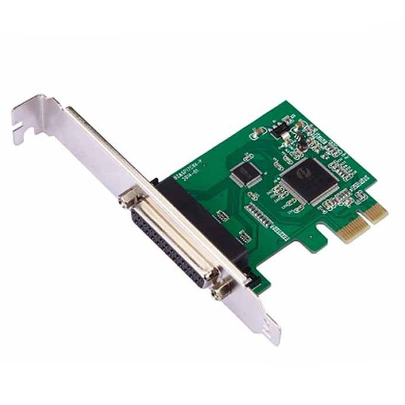 High Quality Parallel Port PCI-E Express Parallel Port Card 25-pin Printer Expansion Card