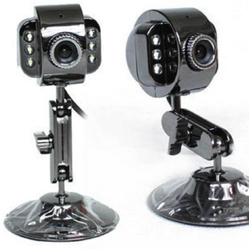 Hot Free Driver Webcam USB Video Webcam HD Built-in Mic Webcam