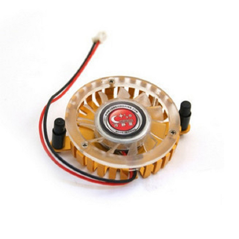 Graphics Card Fan 5.5cm Hole Pitch Graphics Radiator Heat Sink Mute Graphics Cooling Fans