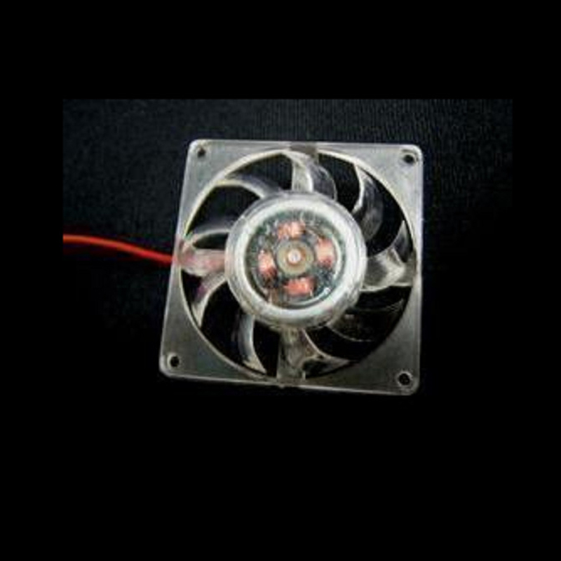 Hot 4cm Graphics Card Fan Transparent Crystal Radiator Computer Card Cooler Fan