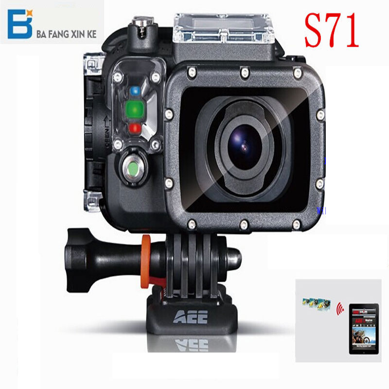 AEE S71 144 Degree Wide Angle Wifi Video Sports Camera With 100Waterproof