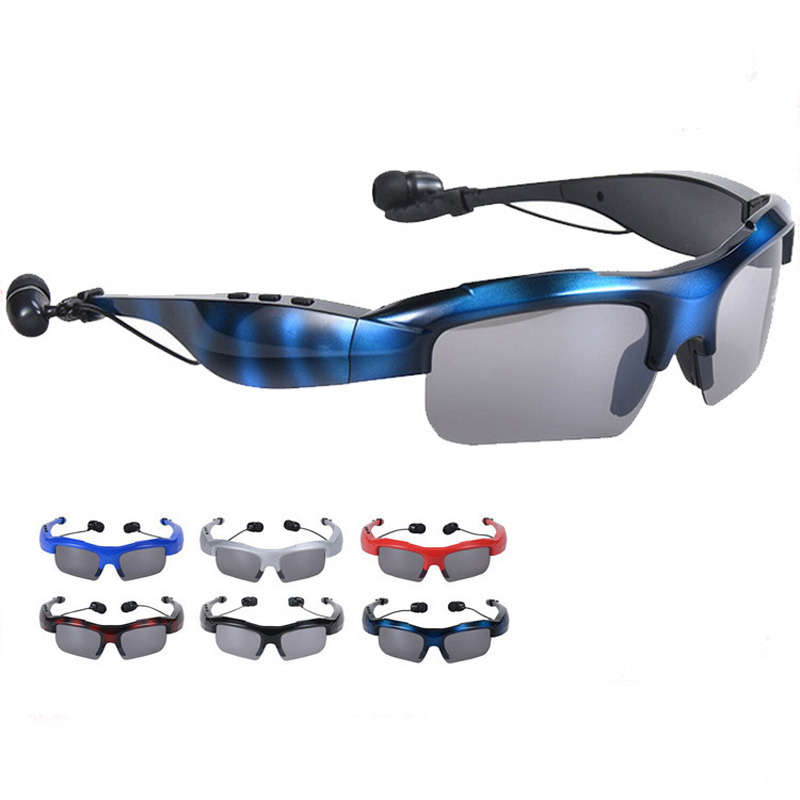 HBS-361 Bluetooth 4.1 PVC+UV Stereo Sound Effects Bluetooth Glasses Sports Driving Earphone