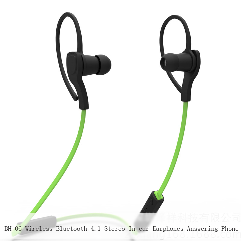 BH-06 Wireless Bluetooth 4.1 Stereo In-ear Earphones Answering Phone