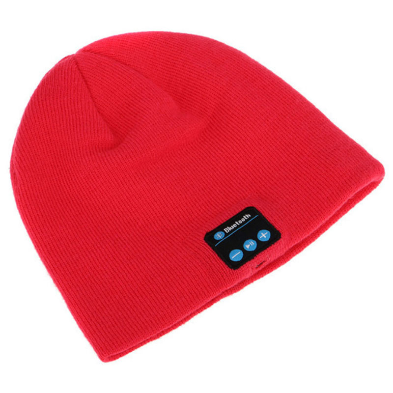 Soft Warm Beanie Bluetooth Hat Smart Cap Speaker With Microphone