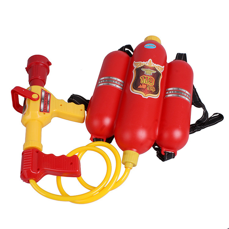 Summer Children's Gun Fire Backpack Beach Water Cannons Toys for Kids