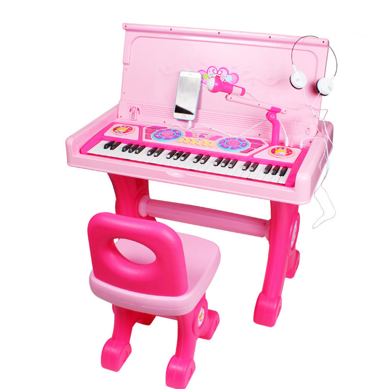 Pre-school Plastic Music Instrument Toys Early Childhood Educational Piano Toy for Kids