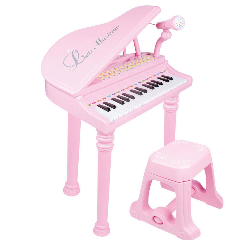 31 Keys Multifunctional Piano Toy with Microphone Electrical Keyboard Toy Gift for Kids