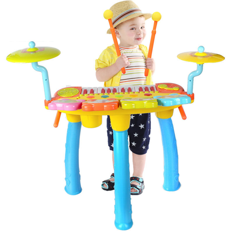 1601 Children Drum Jazz Electronic Piano Music Enlightenment Practice Baby Musical Toys