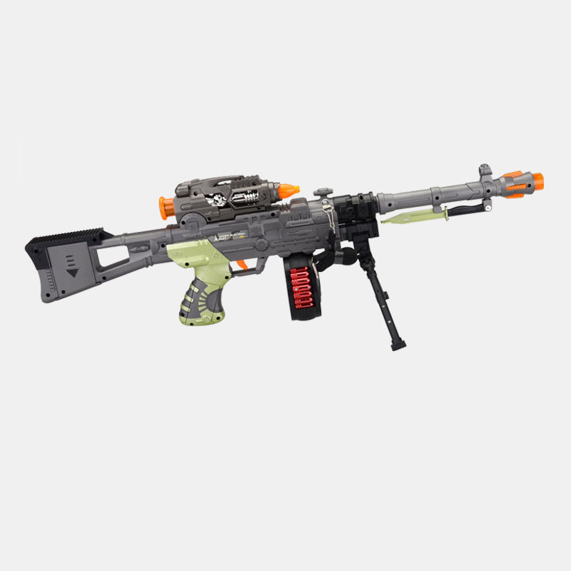 High Performance Super Simulation Gun Music Flash Electric Toys