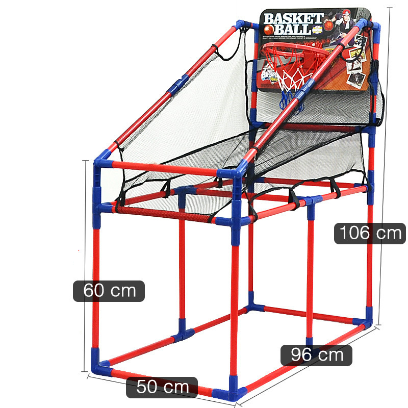 Indoor and Outdoor Sports Basketball Shooting Large Basketball Rack Toy