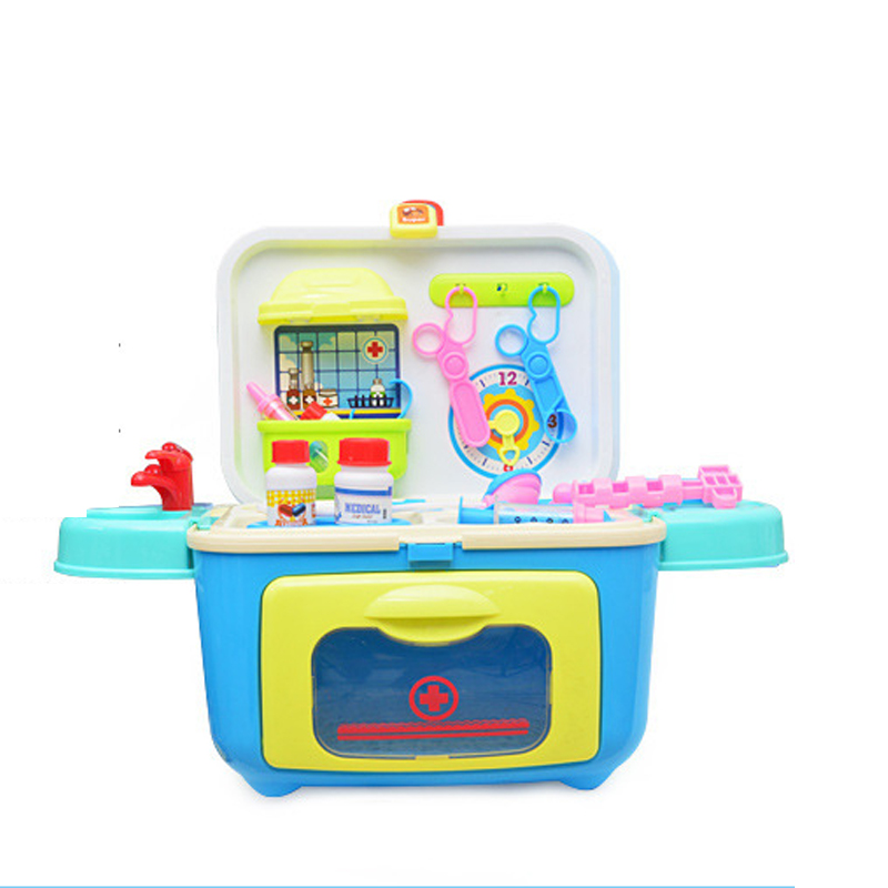 Medical Kits Kids Play Houses Set Child Tool Box Toy Y802