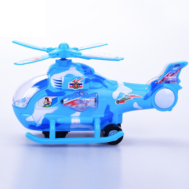 Electric Flash Universal Music Light Helicopter Toy for Children's Gift