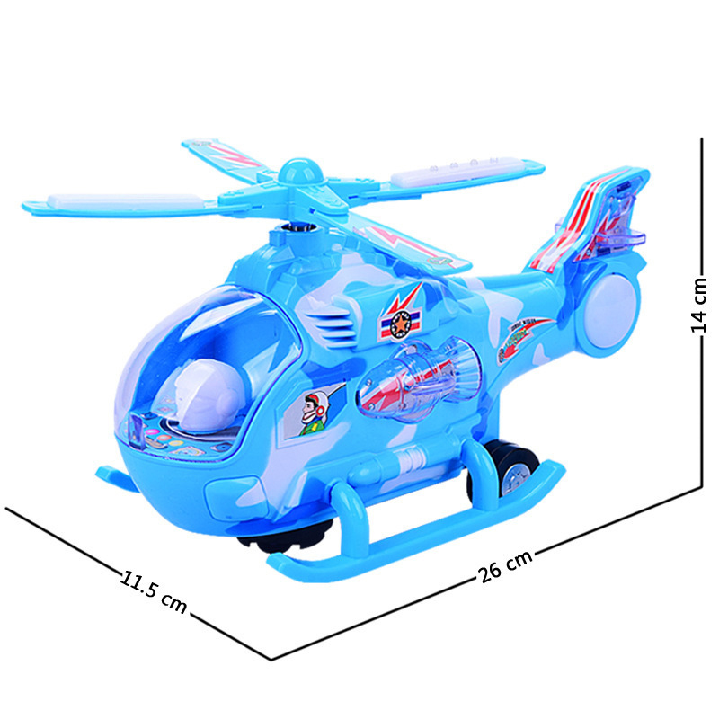 Electric Flash Universal Music Light Helicopter Toy for Children\'s Gift
