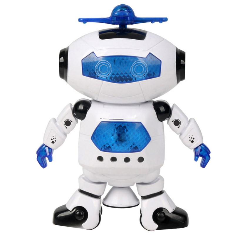 360 Rotating Space Dancing Robot Electronic Toy Gift Toy For Child