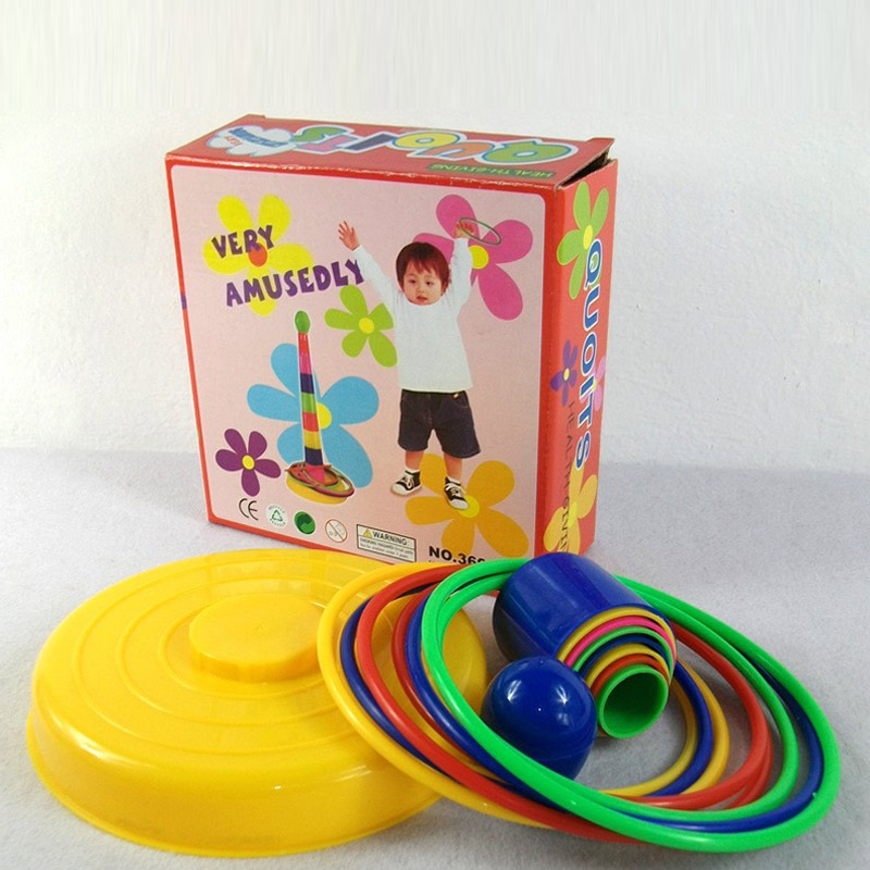 Parent-child Sports Game Happy Set of Loops Children's Toys