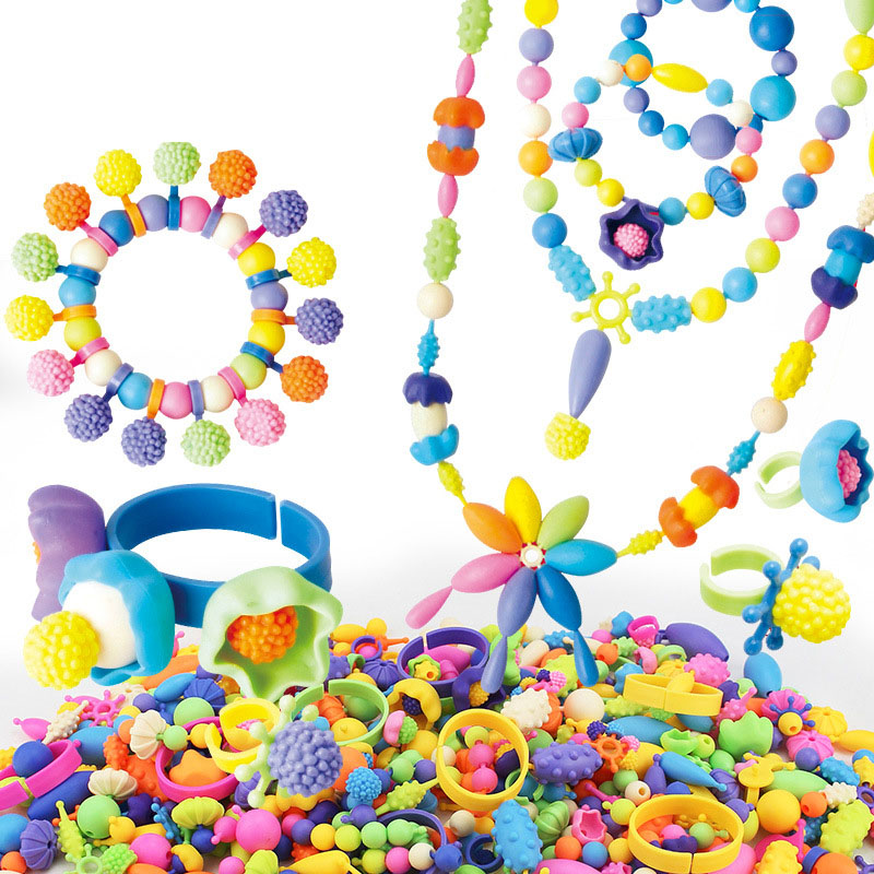 Creative Children Learning Toy Colorful Insert Beads Educational Toys For Kids