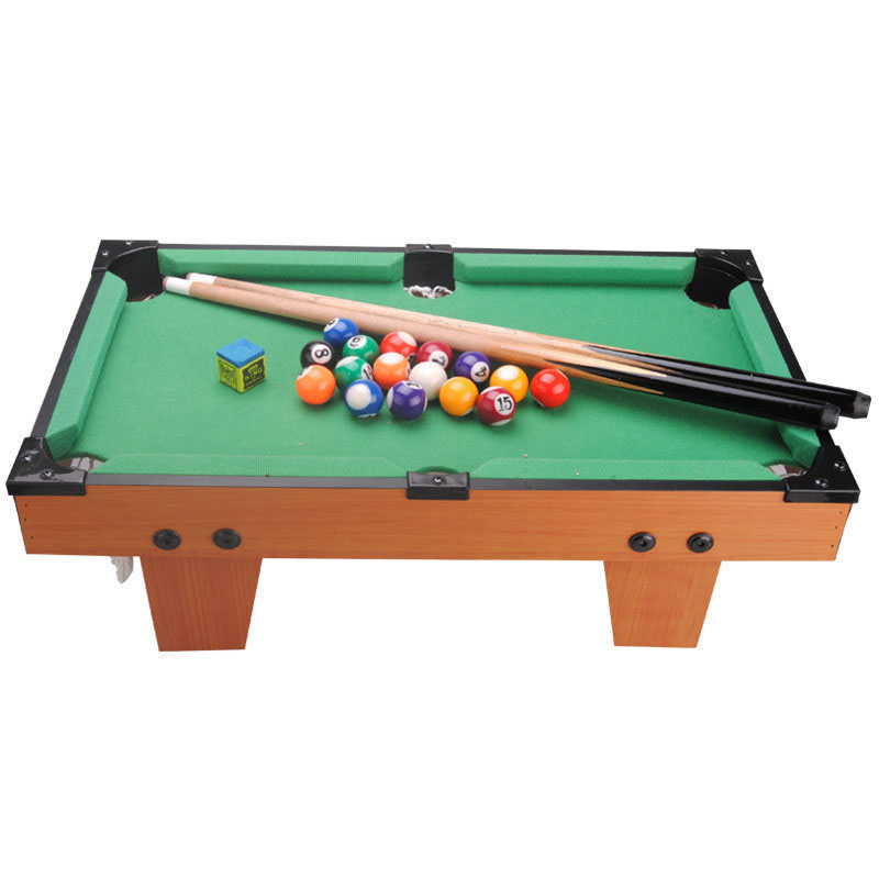 Mini Simulation Billiards Table Game Easy To Assemble Creative Toy For Children