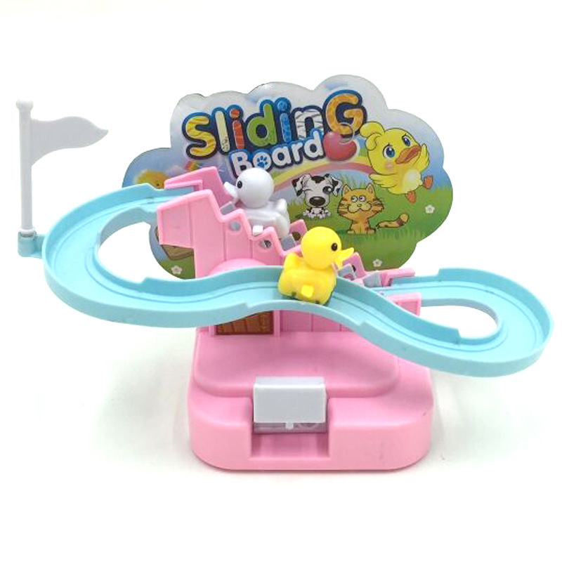 Duck Dog Animal Climbing Stairs Toys Electronic Educational Intelligence Toys