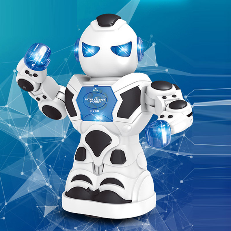 Multifunction Intelligent Robot Electric Rotary Machine for Children Educational Toys