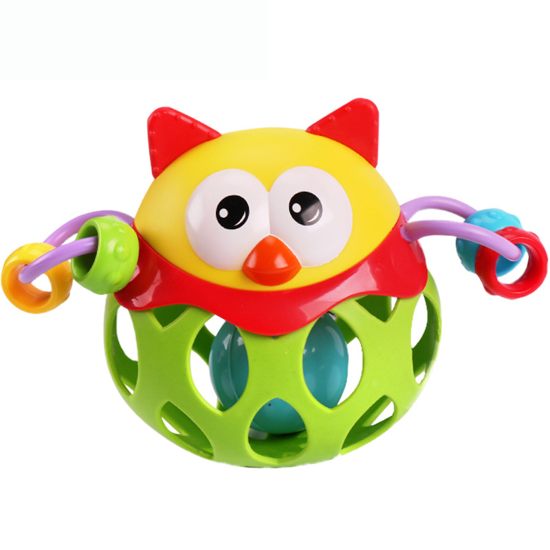 Creative Owl Bell Hedgehog Bell Toys for Boys/Girls 38789AB