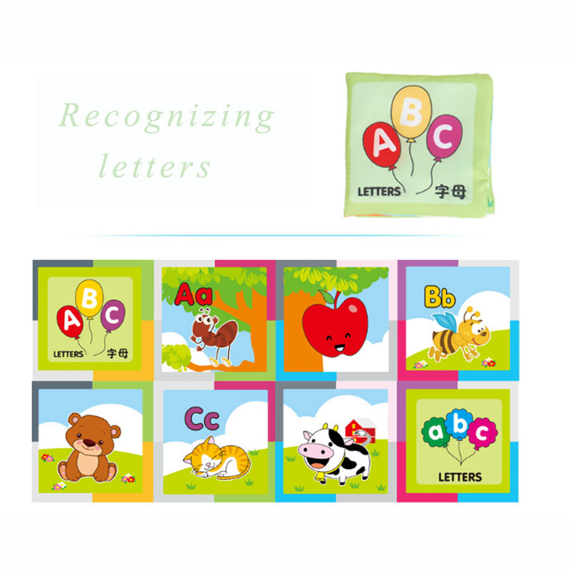 Children\'s Tear Not Rotten Paper Cloth Book Early Childhood Educational Toys
