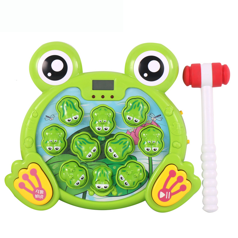 Big Frog Shaped Console Creative Electric Children Toy 38888