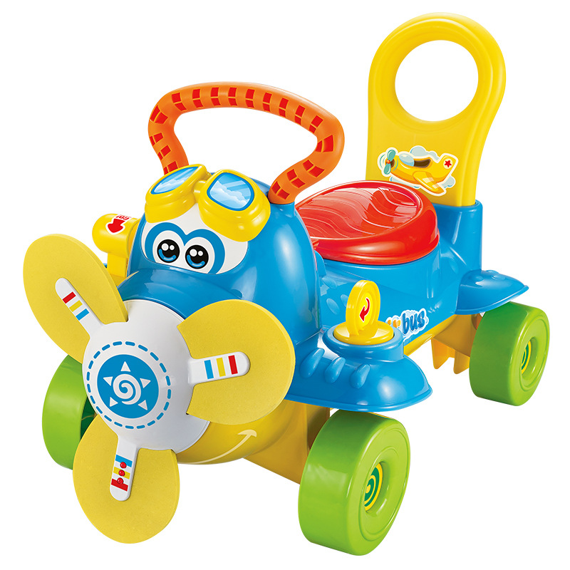 Children Walk Car Multifunctional Baby Walkers with Music