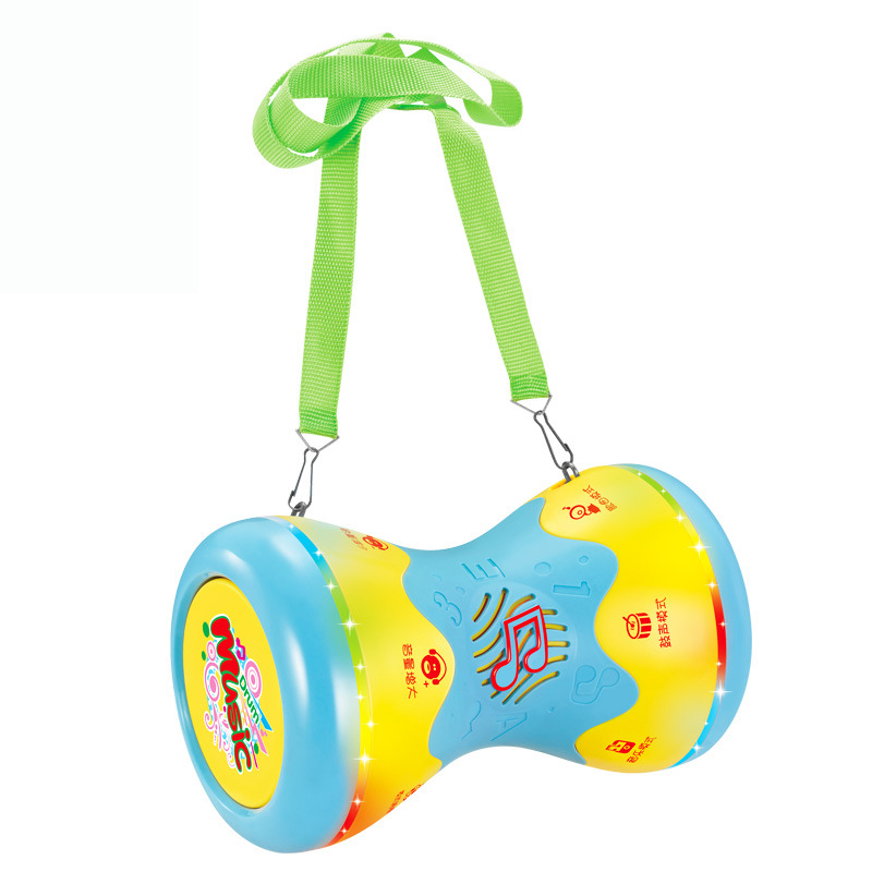 Children Hand-on Drums Double Side Musical Instrument Toys