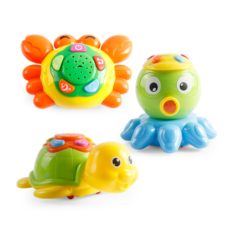 Educational Toy Marine Turtle Carb Octopus Support Music Story Funciton