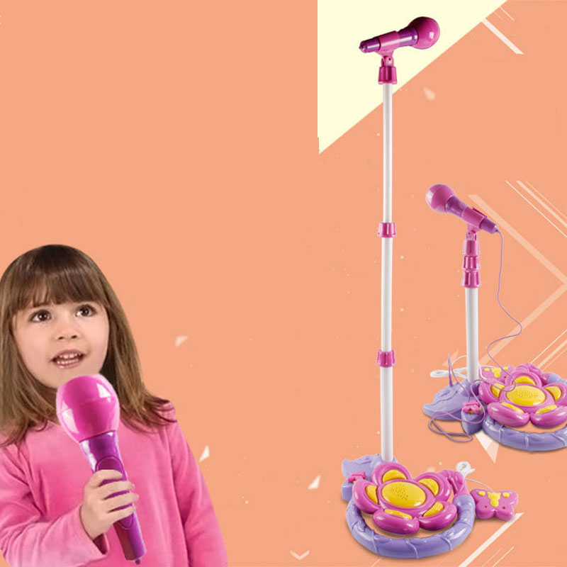 Portable Microphone With KTV Sound Early Educational Toys Best Gifts