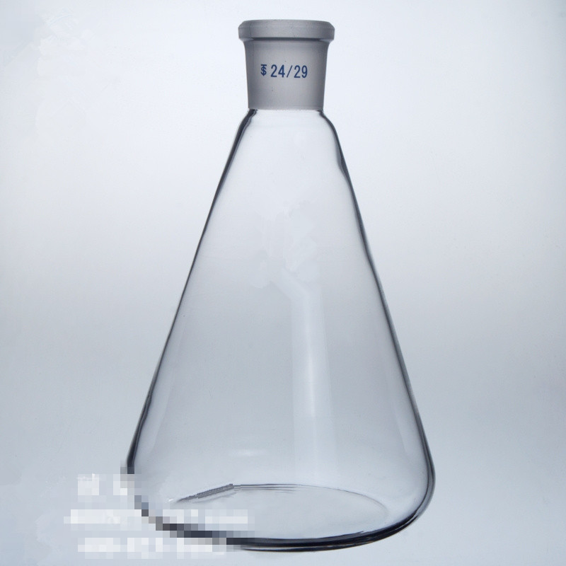 500ml/24# Grinding glass flask Standard Cone bottle Laboratory Triangle Bottle