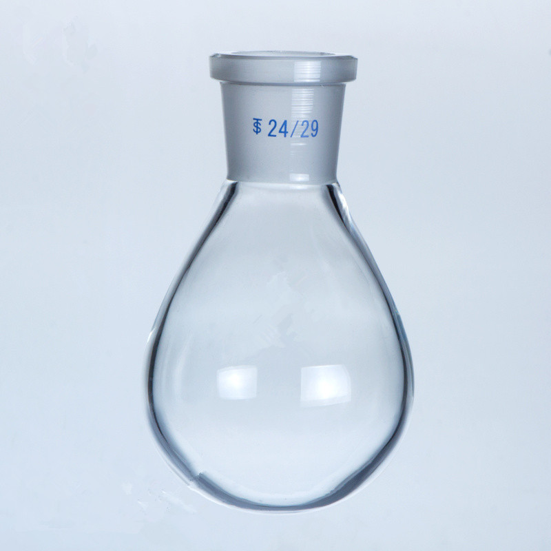 500ml/29# Eggplant-shaped flask Chemistry lab thick wall glass flask for Evaporator