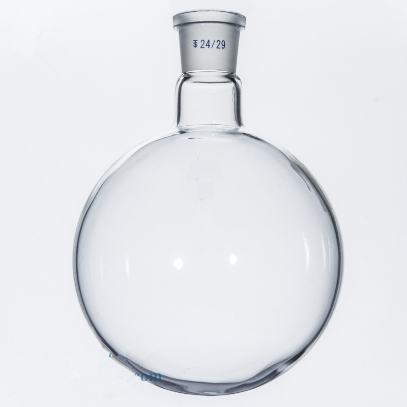 1000ml/19# Single neck ground bottom bottle (thick wall)standard grinding glass flask
