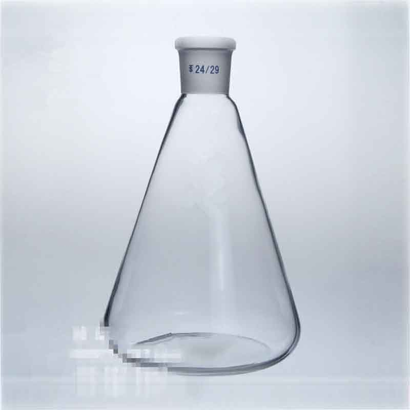 2000ml/24# Glass Erlenmeyer Flask,Groud Joints,2000ml Laboratory Triangle Bottle
